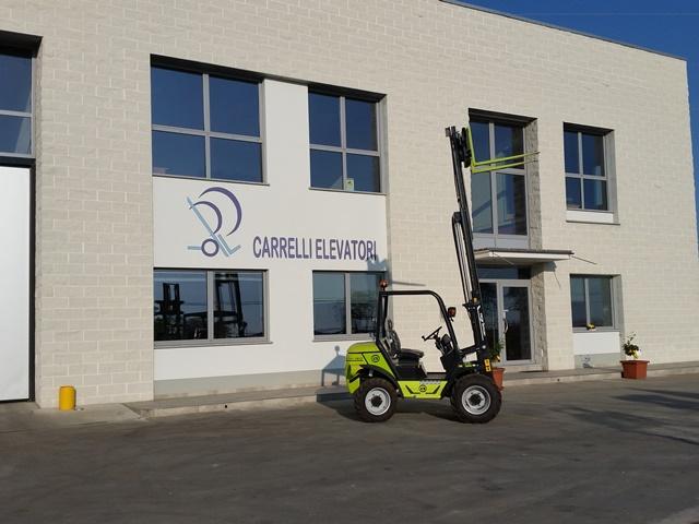 Carrello fuoristrada Agrimac agria diesel 16 quintali agricolo industriale 4WD