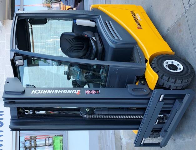 carrelli elevatore jungheinrich elettrici diesel 16 quintali pellegrino busca cuneo forklift
