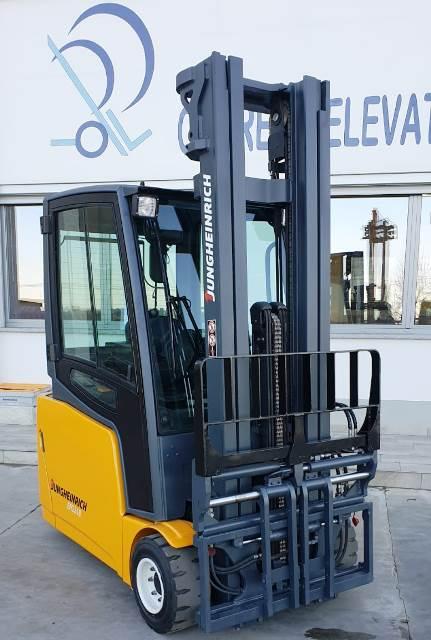 carrello elevatore elettrico usato jungheinrich riparazione assistenza montante triplex duplex 18 quintali pellegrino busca