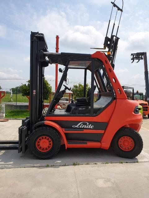 carrello muletto diesel usato nuovo