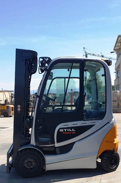 carrelli elevatore still 25 quintali ricondizionati elettrici diesel